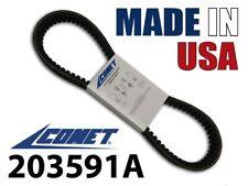 GENUINE COMET 203591A MADE IN USA BELT YERF DOG Q43203W GO KART TORQUE CONVERTER