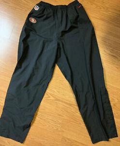 NFL San Francisco 49ers Nike On Field Storm Fit Pants 478374 3XLT Black