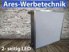 Leuchtkasten LED   2-seitig 50cm x 50cm ▄ LED ▄   Lichtwerbung + DIGITALDRUCK!!!