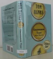 Tom Hanks / Uncommon Type Signed 1st Edition 2017 #1712024