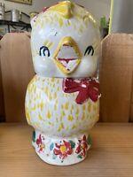 Chick Chicken Cookie Jar Vintage 1940's Shawnee