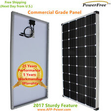 150w 150 Watts Solar Panel using MonoPlus Cells For 12v Battery RV Boat Off Grid