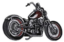 Motorcycle Chopper Embroidered Patch M023P Flames Harley Davidson Triumph Tattoo