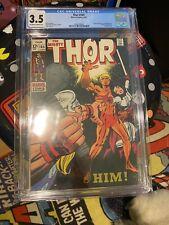 Thor #165 CGC 3.5 | 1st App of HIM (Adam Warlock) | Marvel Comics 1969