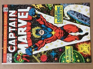 Captain Marvel 29 Midgrade Jim Starlin Marvel Early Thanos