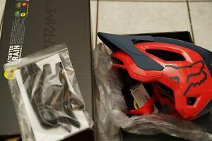 Fox Speedframe Pro Medium navy/red MTB helmet