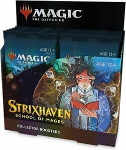 Strixhaven Collector Booster Box - MTG - Brand New! Our Preorders Ship Fast!
