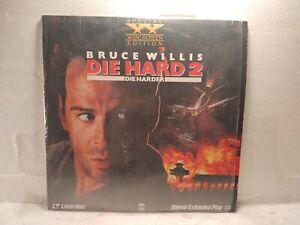 """Die Hard 2 Bruce Willis CBS Widescreen Edition 12"""" Laserdisc Movie lp5327"""