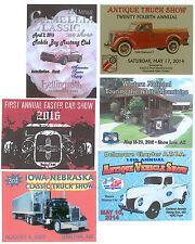 """Car Show 100 Custom 3""""x4"""" Full Color Dash Plaques"""