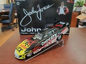 1996 John Force 6X Winston Champion Mac Tools 1:24 NHRA Funny Car *No Body Prop