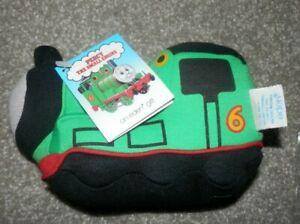 thomas the train 1991 EDEN  PERCY ENGINE Green Stuffed Animal Vintage Toy NEW!