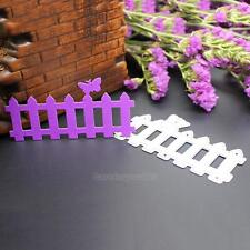 Fence Cutting Dies Stencil Scrapbooking Embossing Photo Album Paper Card Craft