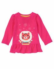 Gymboree COLOR HAPPY let it snow kitty long sleeve tee size 2 2T NWT
