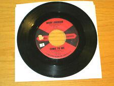 "R&B / Soul / Rock+Roll 45 Rpm - Marv Johnson - Ua 160 - ""Come To Me"" + ""Whisper"""