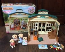 EPOCH Calico Critters Grocery Market w/Groceries, Accessories in & (4) Critters