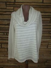 NEW Moth Sz M Knit Top Cowl Neck Sweater Anthropologie Sheer Sleeves