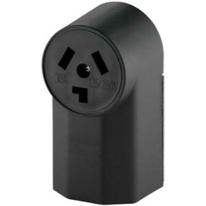 Eaton WD125 3-Pole 3-Wire 30-Amp 125-Volt Surface Mount Dryer Power Receptacle,