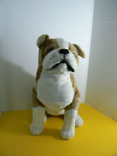 "Melissa & Doug Giant English Bulldog 20"" tall Euc"