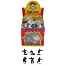 100x MINI TOY SOLDIER SMALL MILITARY ARMY MEN FIGURES CHILDREN'S LOOT BAG FILLER