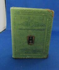 Wonderful Vintage Metal Bank -Book Shape