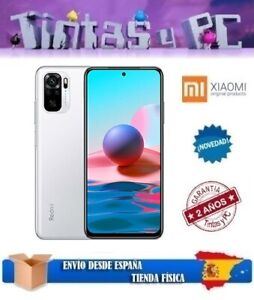 XIAOMI REDMI NOTE 10  64/128GB. 4GB RAM. SNAPDRAGON 678 . VERSION GLOBAL ESPAÑOL