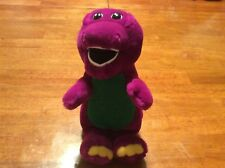 Barney 10 inch Vintage Plush The Lyons Group sings abc song