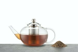 KITCHENCRAFT LeXpress 8 Cup/1.4Ltr Glass Infuser Teapot. Leaf, Fruit, Herbal.