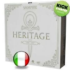 VampireThe Masquerade Heritage Gioco da Tavolo Kickstarter ITALIANO 🤩
