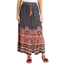 Joe Browns Festival Maxi Skirt Size UK 14 Multi Dh077 HH 23