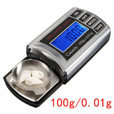 100g x 0.01g mini Pocket Jewelry oro digital Gram balance weight Scale