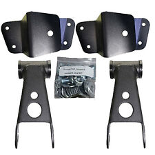 "Drop Shackles  Hangers Kit 1988-1998 Chevy GMC 1500 2"" Front/Rear Lowering Parts"
