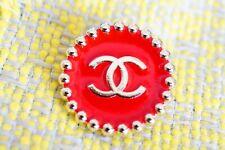 100% Chanel button 1 pieces   metal cc logo 25 mm 1 inch 💔💔💔XXL