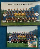 Folder buste primo giorno Inter Campione D'Italia 1988/89
