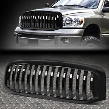FOR 06-09 RAM 1500 2500 3500 VERTICAL STYLING FRONT BUMPER GRILLE GRILL GLOSSY