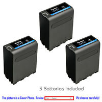 Kastar Replacement Battery for Sony NP-F990PRO Sony NEX-FS100 PXW-Z150 CCD-TR3
