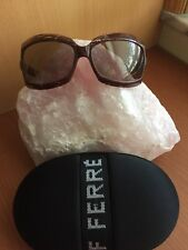 AUTHENTIC Gianfranco FERRE Brown Sunglasses GF67703 64 16 110,made in Italy