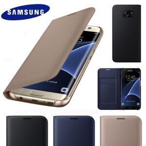 Luxury Leather Wallet Genuine Card Holder Flip Case Cover for Samsung J5 2015