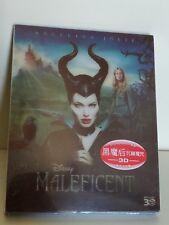Maleficent 3D HK.bluray,  Lenticular Slipcover, Mint/Sealed