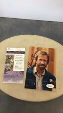 Chuck Norris autographed 5 x 7 color photo with Lot 180
