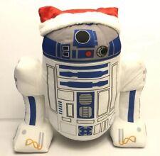 "Disney Star Wars R2-D2 Santa Holiday Greeter 20"" Large Plush"