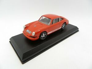 Porsche 911 S Orange With Headband Vitesse 1/43 Miniature