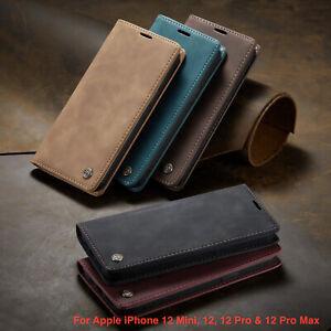 Leather Flip Magnetic CaseMei Phone Case Mini 12,12,12 Pro & 12 Pro Max