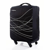 Samsonite Large Foldable Luggage Cover Black - Luggage