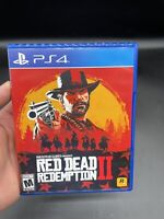 Red Dead Redemption 2 - 2018 Rockstar Games - Sony Playstation 4 PS4 W/ Map