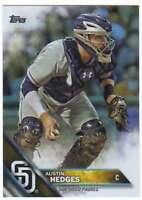 2016 Topps Series 2 Baseball Rainbow Foil #502 Austin Hedges Padres