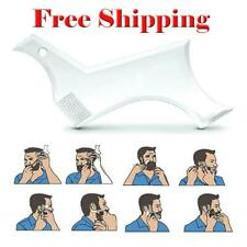 Mens Beard Shaping Tool Styling Template Shaper Comb Trim Facial HairCare Barber