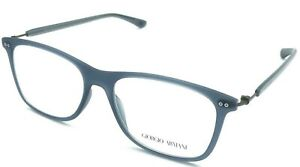 New Authentic GIORGIO ARMANI AR7059 5336 Matte Crystal Blue 53/16/145 Eyeglasses