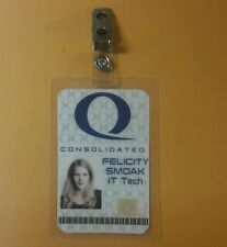 Arrow ID Badge - Queen Consolidated Felicity Smoak IT Tech cosplay prop costume