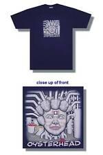 Oysterhead! Pecking Order Album Cvr Blue T-Shirt Small New