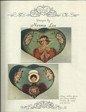 NORMA LEA RIDDELL Two Ladies Decorative Tole Painting Pattern Packet